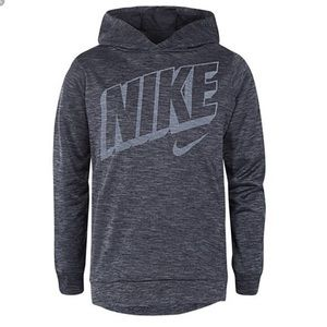 NIKE BOYS 6 DRI-FIT LIGHT WEIGHT PULLOVER HOODIE